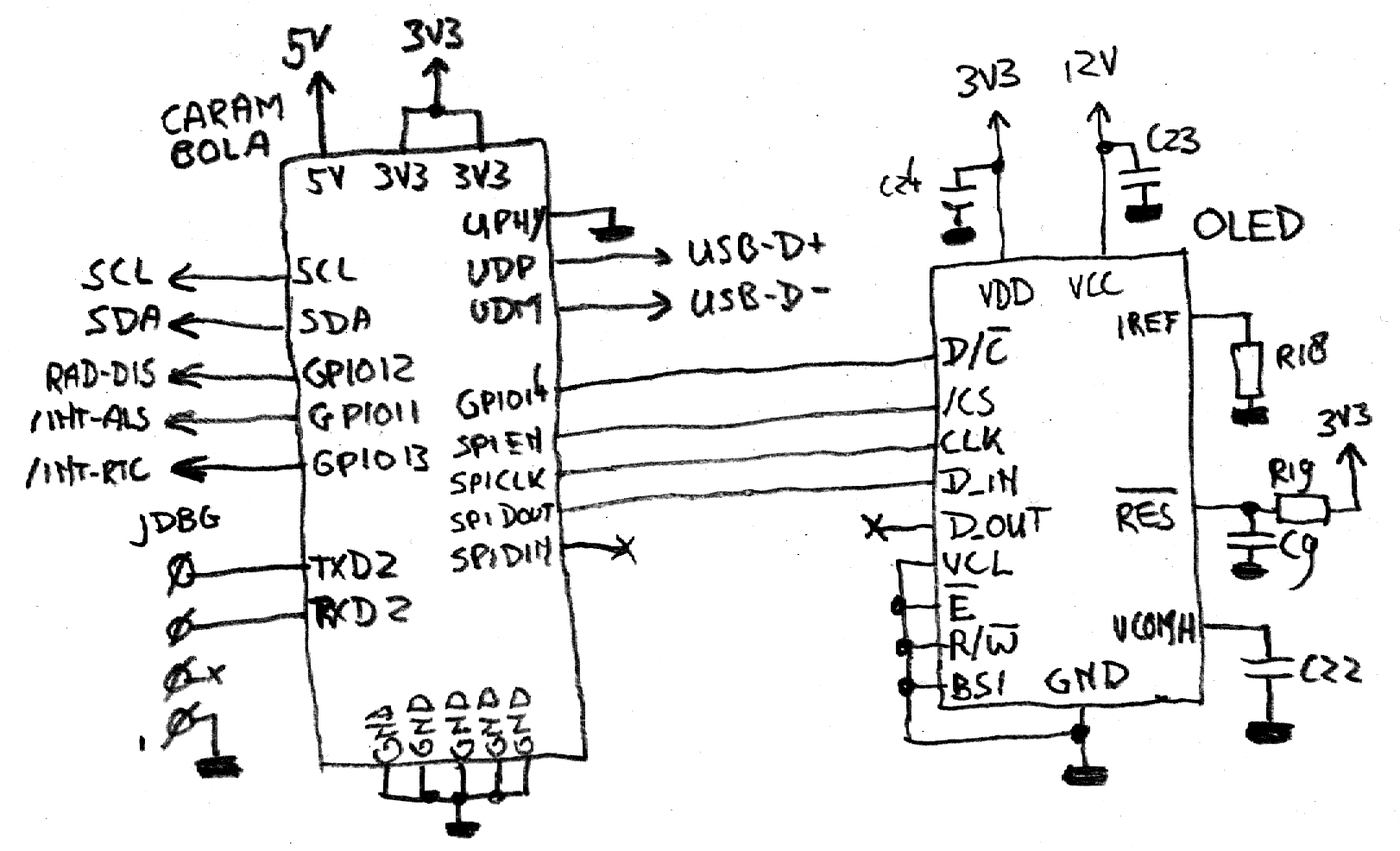 sprites mods - linux-based clock radio