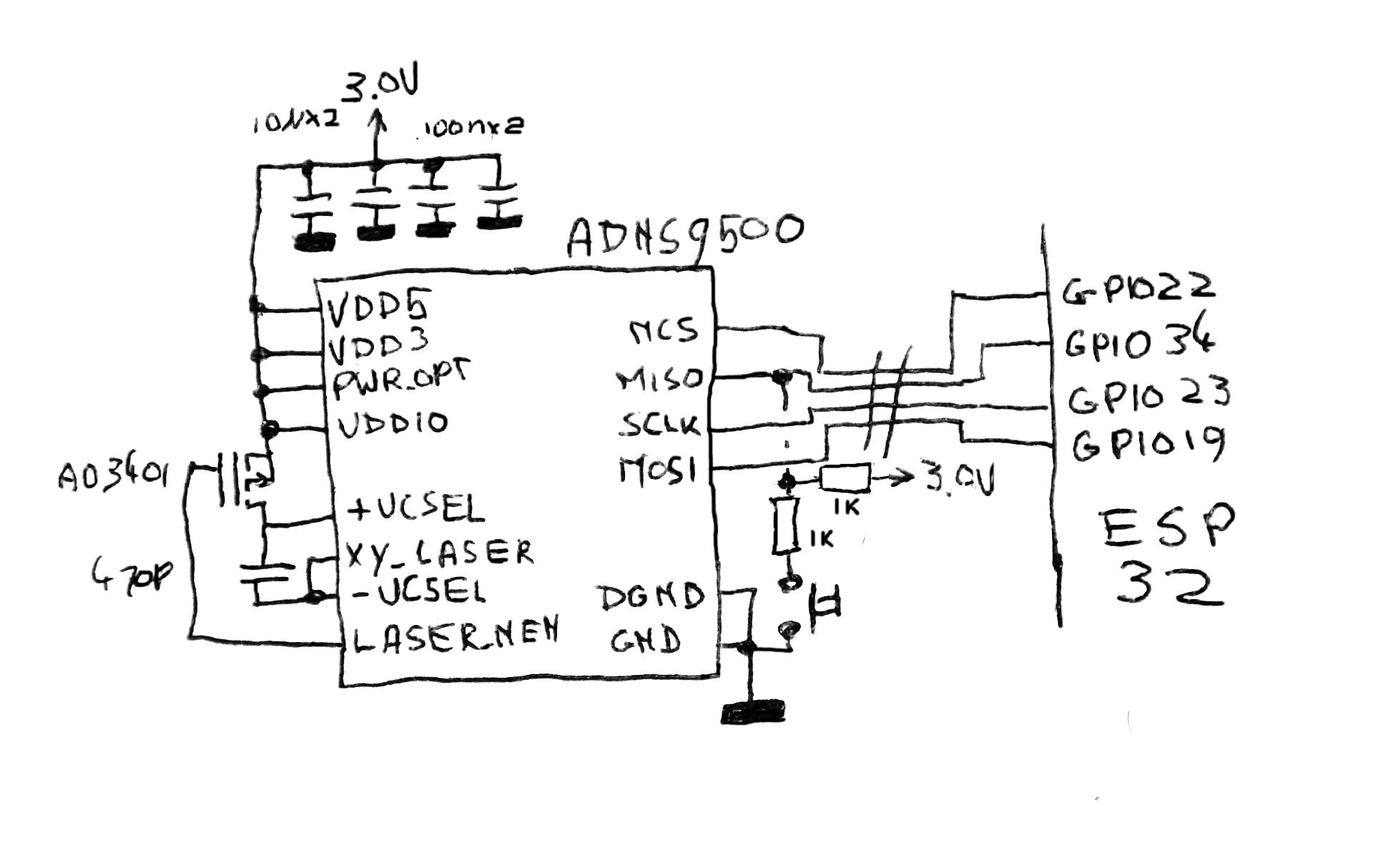 Laser Mouse Schematic Electrical Wiring Diagram Opticalpulsegeneratorcircuitdiagramgif Sprites Mods Miniature Macintosh Plus Rh Spritesmods Com Parts Of A