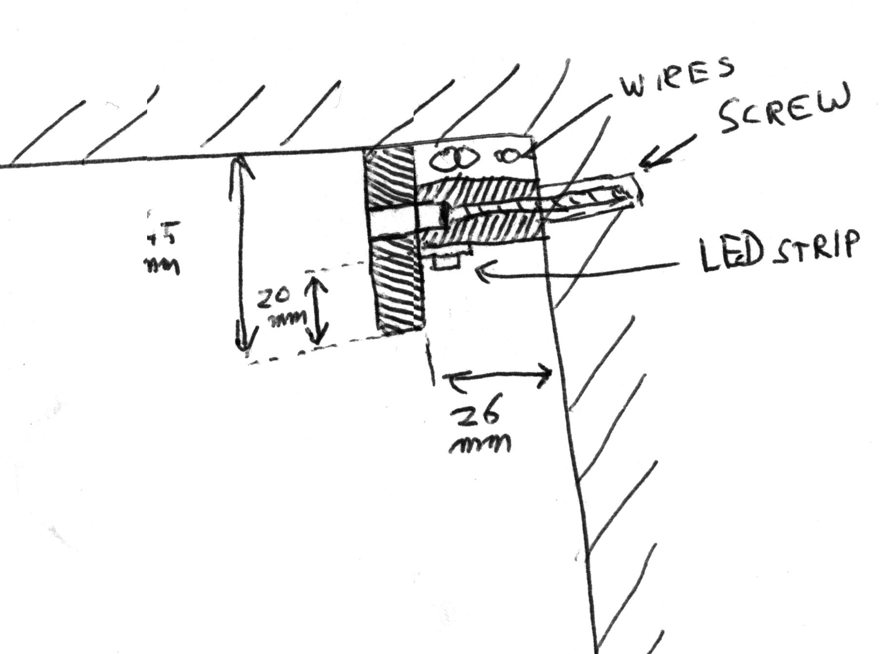 sprites mods - wall-lighting with rgb-leds